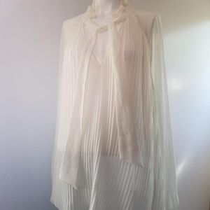Xl who what wear sheer top romantic